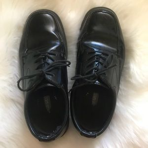 Sz 7.5 men's nunn bush dress shoes